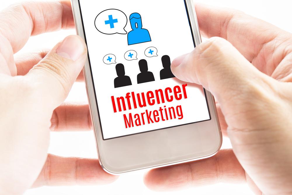 Influencer marketing piattino